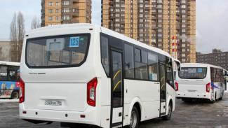 В Воронеже в третий раз за два месяца изменят маршрут автобусов №125