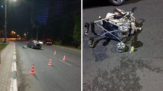 В воронежской больнице умер сбитый в коляске младенец