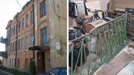 В Воронеже нашли украденные чугунные балконы столетнего Дома Фирюпкина