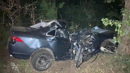 В Воронежской области погиб водитель вылетевшей в кювет иномарки