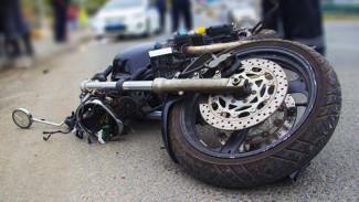 В ДТП в центре Воронежа пострадали байкер и его пассажирка
