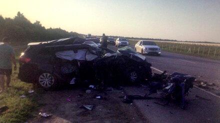 В страшном ДТП на воронежском участке трассы М-4 «Дон» пострадали 6 человек