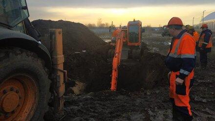 Советский район Воронежа остался без воды из-за крупной утечки на водоводе