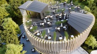 На месте «шайбы» в воронежском Центральном парке построят «Сыроварню»