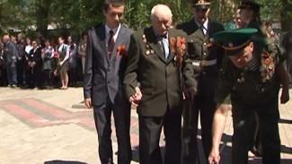 Огонь Победы после 15-летнего перерыва зажёгся у мемориала в Семилуках