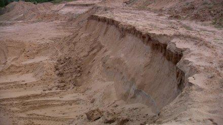 В Воронежской области после гибели школьника под завалами песка возбудили уголовное дело