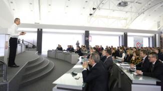 Президент Московской школы управления «Сколково» выступил в Воронежском опорном вузе
