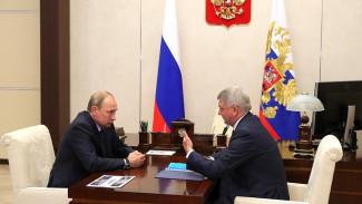 Владимир Путин поддержал создание особой экономической зоны в Воронежской области