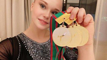 Воронежская гимнастка Ангелина Мельникова взяла три «золота» на соревнованиях в Японии