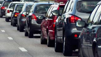 В Воронежской области на трассе М4 «Дон» у Лосево вновь разрастается гигантская пробка