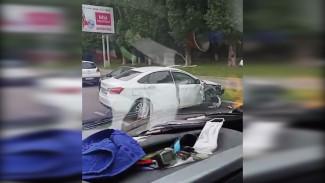 В Воронеже водитель из-за плохого самочувствия спровоцировал массовое ДТП