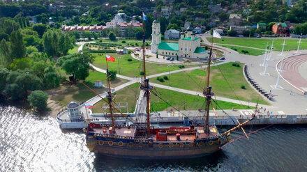 На воронежском корабле-музее сняли эпизод новых «Гардемаринов»