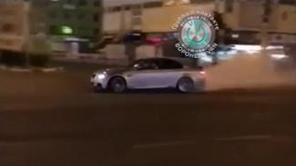 В Воронеже водителя BMW оштрафовали за попавший на видео опасный дрифт в центре города