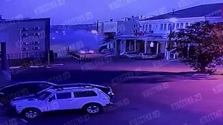 Появилось новое видео взрыва в отделе полиции в воронежских Лисках