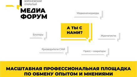 Появилась программа VIII Воронежского медиафорума