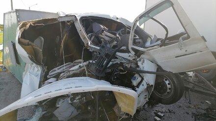 На трассе «Дон» в Воронежской области в лобовом столкновении машин чудом выжил водитель