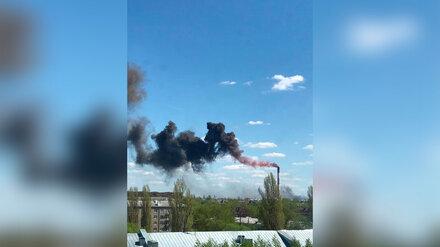 Появились результаты анализов воздуха в Воронеже после крупного пожара на «Синтезкаучуке»