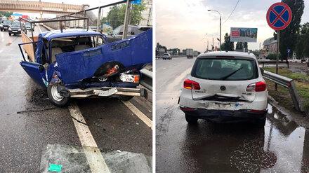Под Воронежем 25-летний дагестанец устроил массовое ДТП с 3 пострадавшими