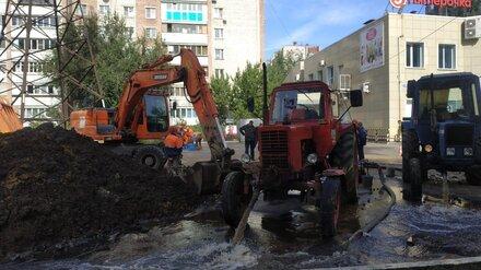 Коммунальная авария оставила без воды 36 воронежских многоэтажек