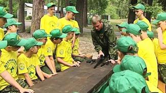 Лагерь с настоящей армейской подготовкой открылся под Воронежем