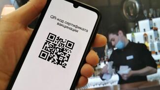 В Воронежской области ввели систему QR-кодов