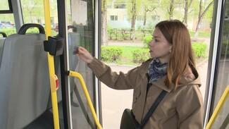 В Воронеже появились маршрутки с терминалами у задней двери