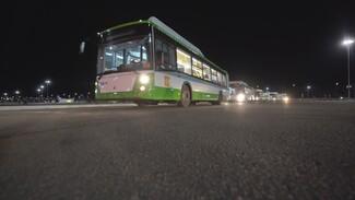 Ночь больших машин. Как новые автобусы изменят воронежский общественный транспорт