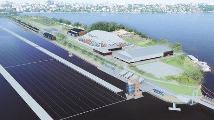 Воронежцам показали, как строительство Центра гребли преобразит Придаченскую дамбу