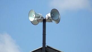 В воронежских сёлах начали устанавливать звуковые системы оповещения