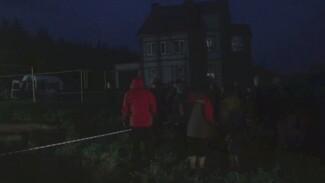 Появилось видео с места гибели 3 детей под завалами дачи в Воронежской области