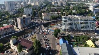 Воронежцам показали пути объезда перекрытого виадука у «Работницы»