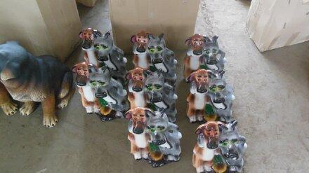 В Воронеже уничтожат керамику с фигурками из мультика «Жил-был пёс»