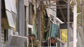 Очевидцы рассказали о взрыве ТЦ в Воронежской области