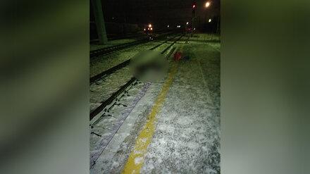 Под Воронежем грузовой поезд переехал мужчину
