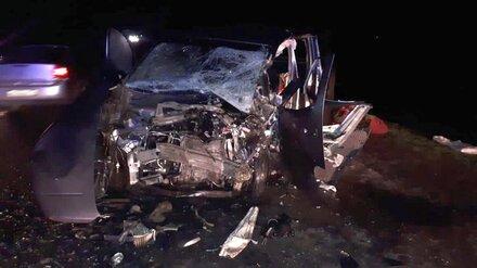 Мужчина и женщина насмерть разбились в лобовом ДТП на воронежской трассе