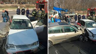 В Воронеже 21-летняя девушка устроила ДТП у «Динамо» и попала в больницу