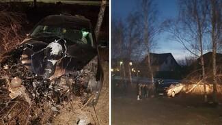 Водитель Volkswagen умер в воронежской больнице после ДТП с деревом
