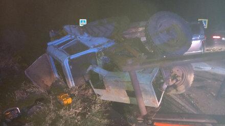 Смертельное ДТП с трактором в Воронежской области устроил пьяный водитель