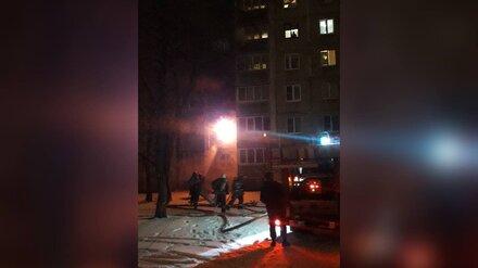 В Воронеже из полыхающей многоэтажки эвакуировали 47 жильцов