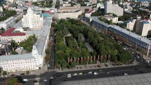 Экскурсии по Воронежу. Кольцовский сквер