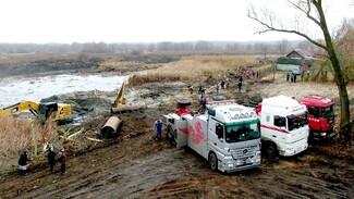 Расчистку реки под Воронежем остановили после претензий Росприроднадзора