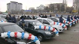В Воронеже труженики села получили ключи от новых автомобилей