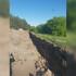 В Воронеже вновь вырыли траншею у скандально известного озера Круглое