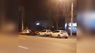 В Воронеже в столкновении четырёх авто пострадали два человека
