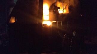 Под Воронежем произошёл пожар на популярной турбазе