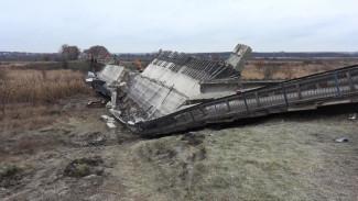 Обрушившийся мост в Воронежской области временно заменят понтонной переправой