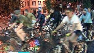 Более тысячи человек приняли участие в ночном велопробеге по Воронежу