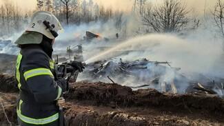 Для лишившихся из-за пожаров жилья воронежских селян создали пункт временного размещения