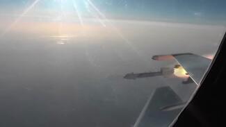 Военные показали зрелищные кадры пуска ракет в небе над Воронежской и Астраханской областями