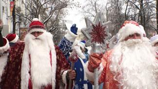 Для парада Дедов Морозов в Воронеже придумают новый маршрут